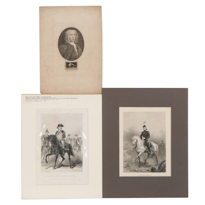 Steel Plate Engravings After Alonzo Chappel, Circa 1860, and More