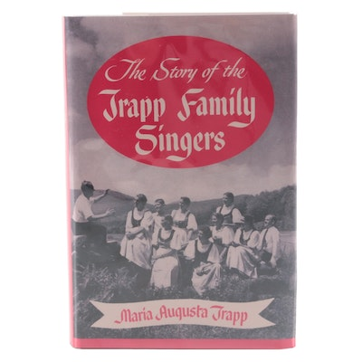 """First Edition """"The Story of the Trapp Family Singers,"""" Singed by Sam Trapp, 1949"""