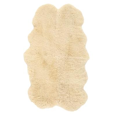 3'6 x 6' Sheep Skin Area Rug