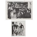 "Sidney Chafetz Portrait Lithographs ""My Maternal Grandfather..."""