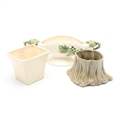 Tokay, McCoy, and Brush Ceramic Planters