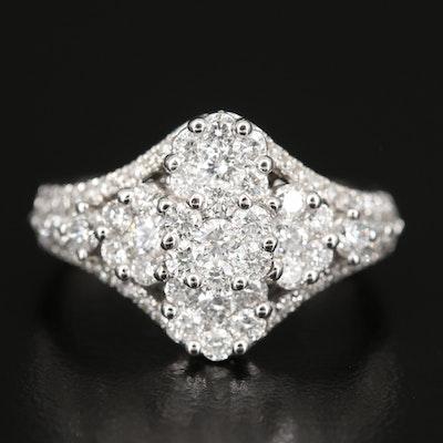 18K 1.51 CTW Diamond Ring
