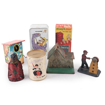 """""""The Flintstones,"""" """"Mary Poppins,"""" """"Chest-O,"""" and Other Coin Banks"""