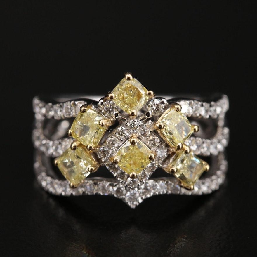 18K 2.23 CTW Diamond Ring