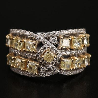 18K 2.17 CTW Diamond Ring