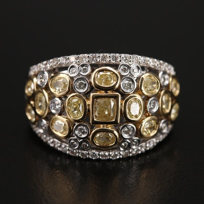 18K 1.73 CTW Diamond Ring