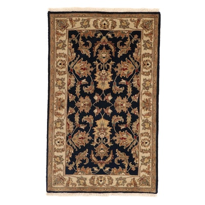 3'1 x 5'1 Hand-Knotted Indo-Persian Tabriz Rug, 2010s