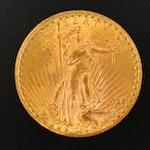 1928 St. Gaudens $20 Gold Coin