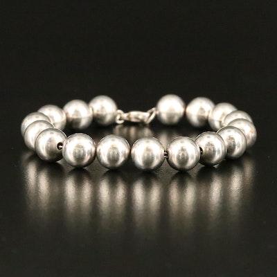 """Tiffany & Co. """"HardWear"""" Sterling Bead Bracelet"""