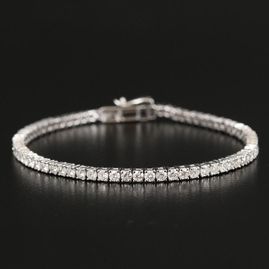 4.77 CTW Diamond Tennis Bracelet in 14K