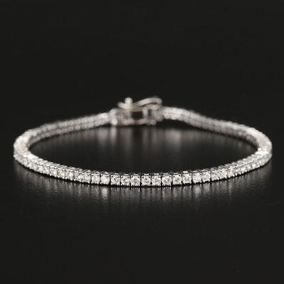 14K 2.64 CTW Diamond Tennis Bracelet