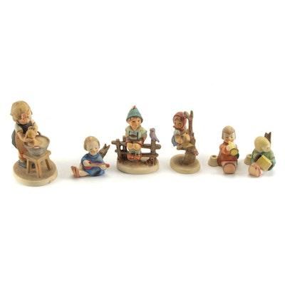 """Goebel """"Doll Bath"""" and Other Porcelain Hummel Figurines"""