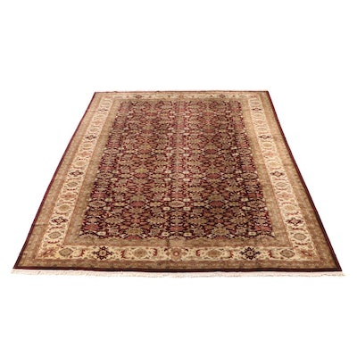 11'11 x 18'4 Hand-Knotted Indian Room Sized Rug from The Rug Gallery