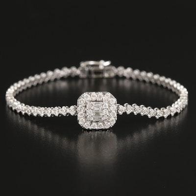 14K 2.90 CTW Diamond Bracelet