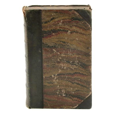 """Early UK Printing """"Dred"""" by Harriet Beecher Stowe, 1856"""