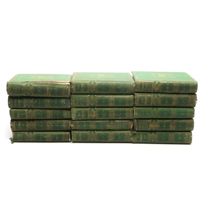 """""""The Works of William Makepeace Thackeray"""" Collection, Mid-19th Century"""