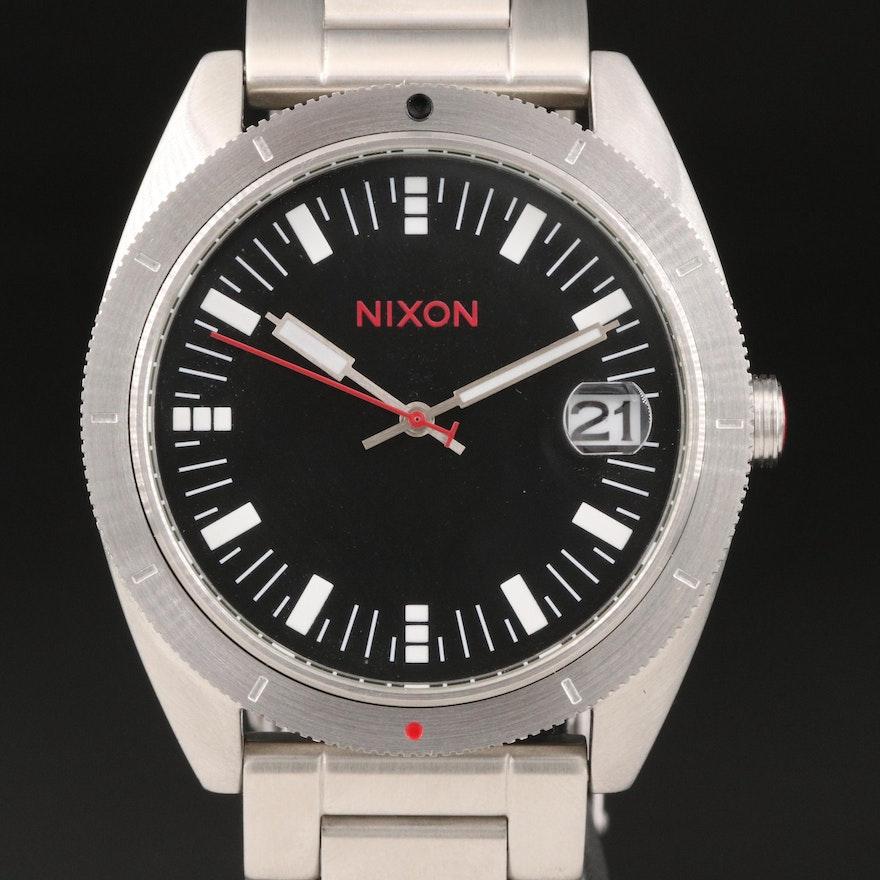 Nixon The Rover SS Stainless Steel Quartz Wristwatch