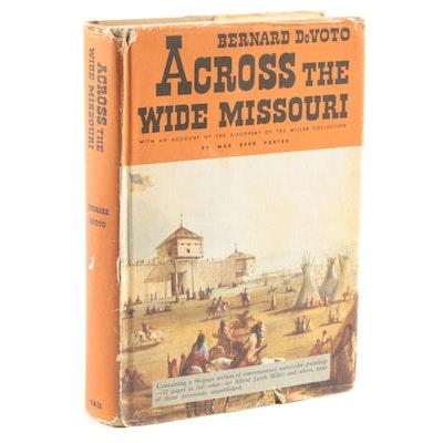 "Illustrated ""Across the Wide Missouri"" by Bernard DeVoto, 1947"