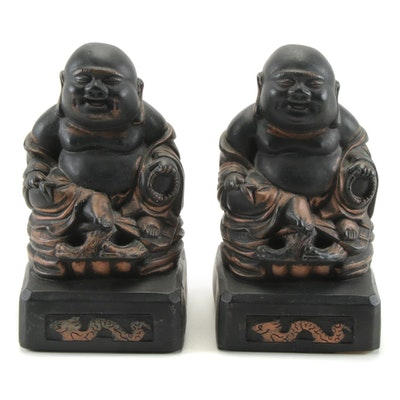 Budai Figural Bookends