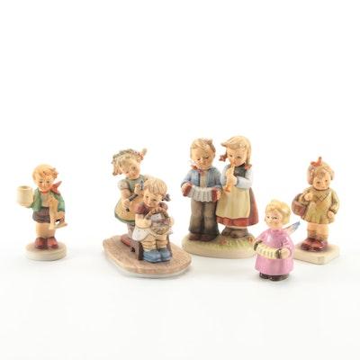 "Goebel ""Forever a Friend"" and Other Porcelain Hummel Figurines"