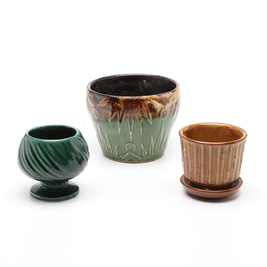 Hull, McCoy, and Other Ceramic Planters