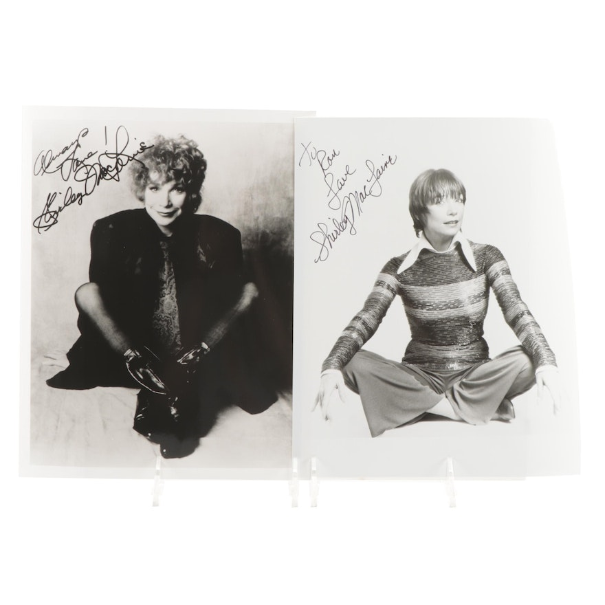 Shirley MacLaine Signed Movie Photo Print and Celebrity Publicity Print