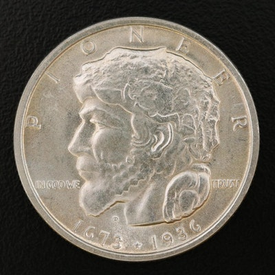 1936 Elgin, Illinois, Commemorative Silver Half Dollar