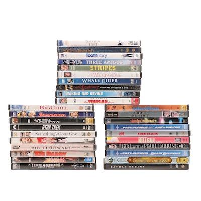 "DVDs Including ""American Gangster,"" ""Peter Pan,"" ""Star Trek,"" and More"