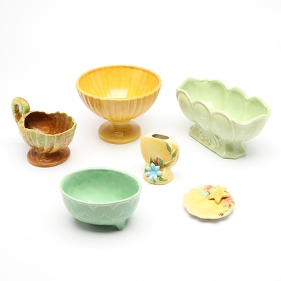 Haeger and Other Ceramic Planters and Vases