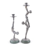 Petites Choses Art Deco Style Figural Candle Holders