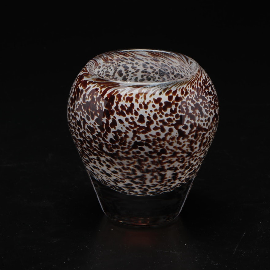 Wedgwood Handblown Glass Vase