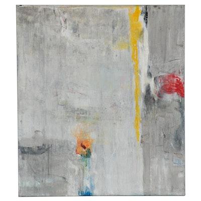 "Mark Whitmarsh Large-Scale Acrylic Painting ""Garden State,"" 2019"