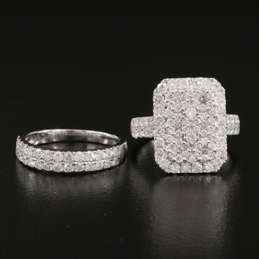 14K 2.72 CTW Diamond Ring Set