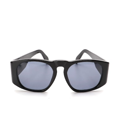 Chanel Matelassé Style Sunglasses in Black with Case