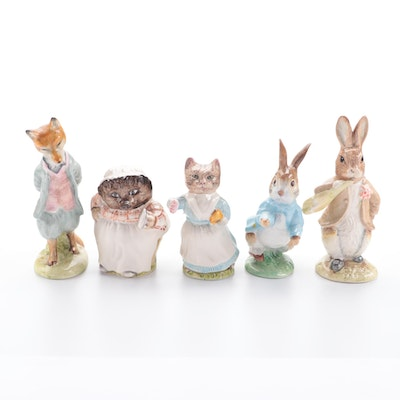 """Royal Albert """"Peter Rabbit"""" and Other Porcelain Animal Figurines"""
