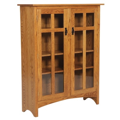 Arts & Crafts Style Amish-Made Bookcase