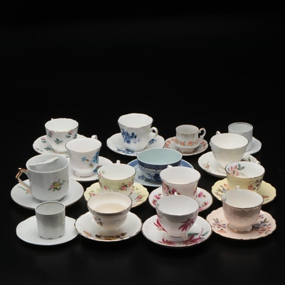 Royal Copenhagen Aluminia Faïence and Other Ceramic Teacups