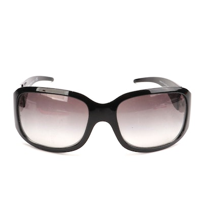 Dolce & Gabbana DG 6017-B Embellished Sunglasses with Case, Slip Cloth, and Box