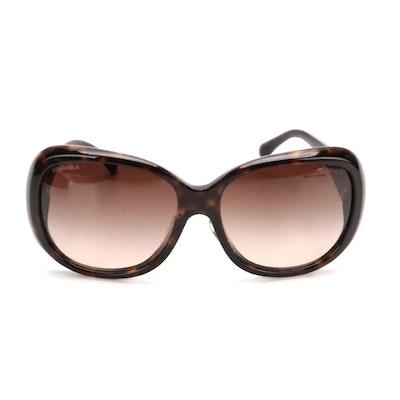 Chanel 5248-A CC Camellia Polarized Sunglasses with Case