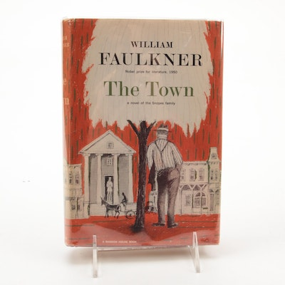 """First Edition, First Printing """"The Town"""" by William Faulkner, 1957"""