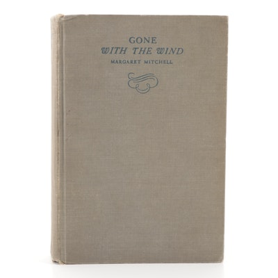 """Early Printing """"Gone with the Wind"""" by Margaret Mitchell, 1936"""