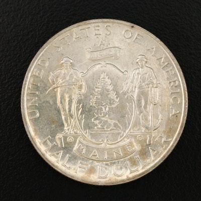 1920 Maine Centennial Commemorative Silver Half Dollar