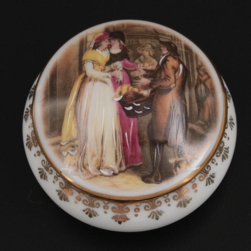 Le Roy Limoges Porcelain Box