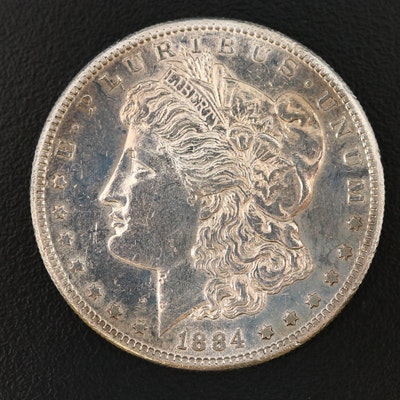 Key Date 1884-S Morgan Silver Dollar