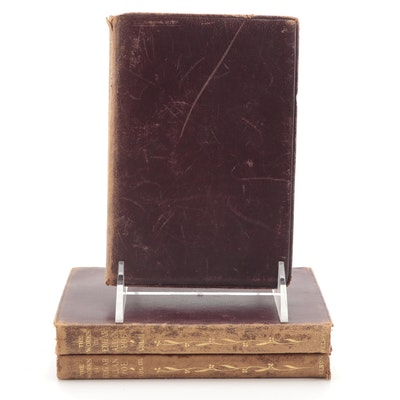 """The Works of Edgar Allan Poe"" Three-Volume Set, Early 20th Century"