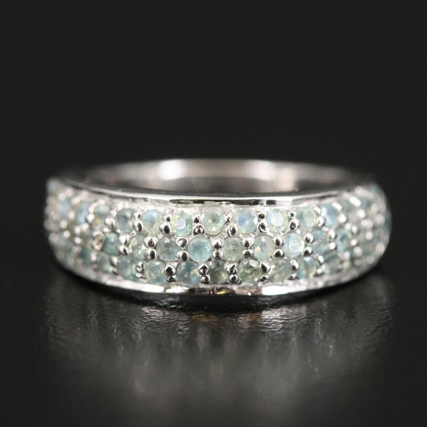 Sterling Alexandrite Ring