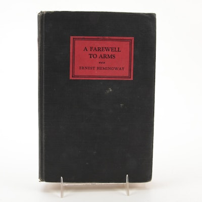 """""""A Farewell to Arms"""" by Ernest Hemingway, 1929"""