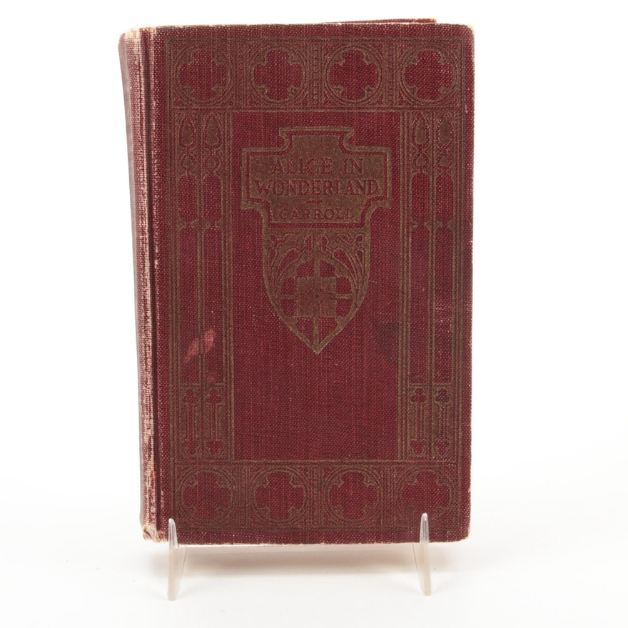 """""""Alice in Wonderland"""" Reader's Library Edition by Lewis Carroll, 1923"""