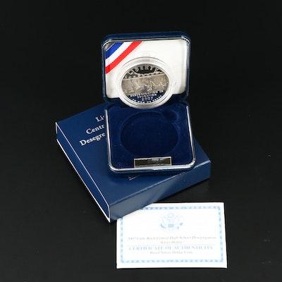 2007-P Little Rock Central Desegregation Proof Commemorative Silver Dollar
