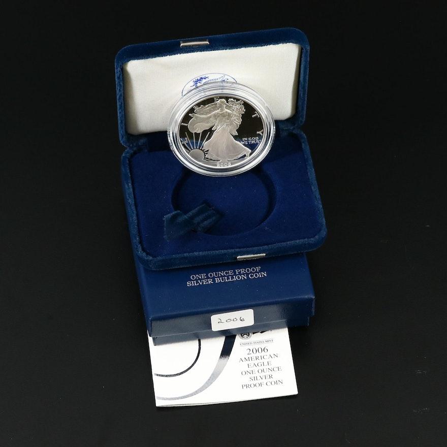 2006-W American Silver Eagle Proof Bullion Coin